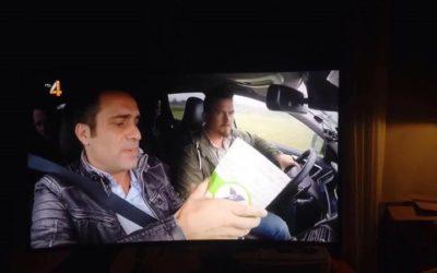 """Powerstrips van FG Xpress op RTL in TV programma: """"de reis van je leven""""."""